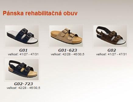 2820c56132 GARBO - pánska rehabilitačná obuv ...